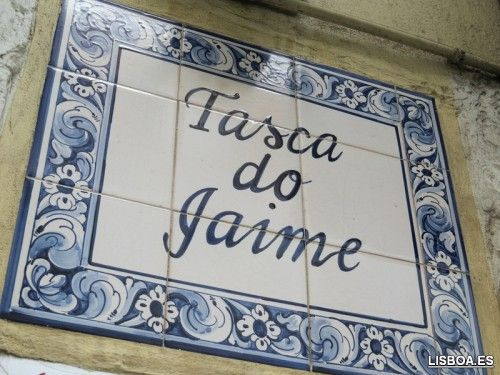 Tasca do Jaime en Lisboa
